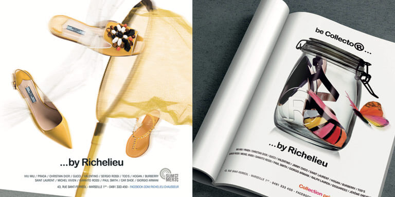 Richelieu - Création identité visuelle