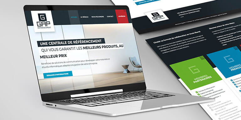 Gap Réferencement – Site web